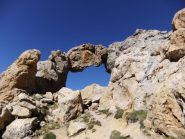 Il lato B dell'arco di Tortisse