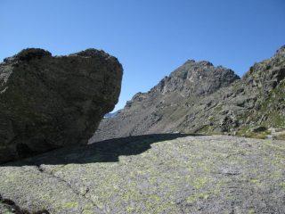 Becco dell'Alpetto visto dal Vallone di Noaschetta