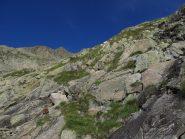 Le prime rocce montonate
