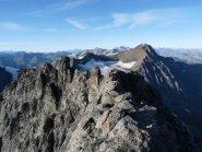 Vista sulla cresta dal Baretti