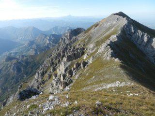 Bussai visto dalla Rocca d'Orel