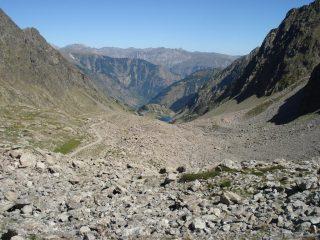 Lago di S. Bernolfo visto dal confine