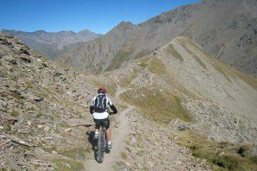 Sulla cresta del Mont Froid