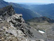 panorama sulla valle,Lago d. Vecchia e Rif. Avanza