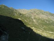 punta Sivella all'alba, dall'alpe Vasnera