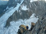 facile cresta fino alle doppie (foto M. Sanguineti)