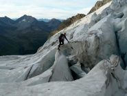 ghiacciaio tormentato