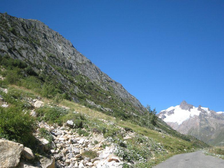 Grand faleise de Seloge e Aiguille des Glaciers