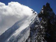 Il Weisshorn e la cresta nord