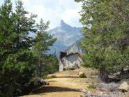 alla minera di Hérin con vista sul monte Avic