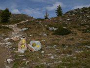 Bivio per il Col de La Croix