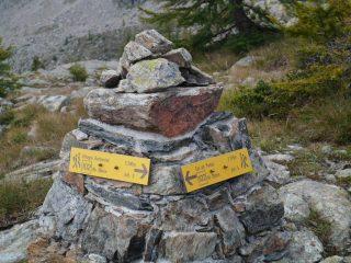 Indicazioni al Col de La Croix