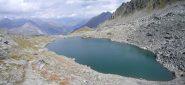 il lago superiore sotto il Colle Tachuy...