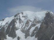 Dalla vetta, zoom su Monte Bianco
