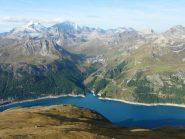 lac du chevril e la gran motte  -gran sasse