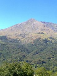 La Quinzeina vista da Castelnuovo Nigra