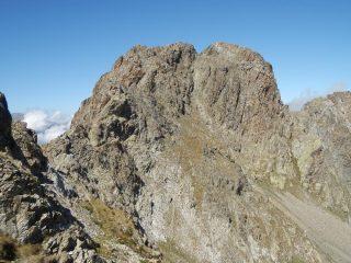 Versante di salita del monte Carbonè, al centro il canale