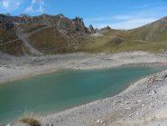 il 3° lago e il colle rochille