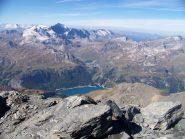 lago Chevril  e Gran Casse
