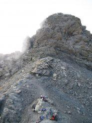 La cima sud vista dal colletto