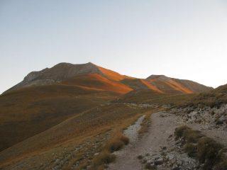 Cresta di salita al Rifugio Zilioli