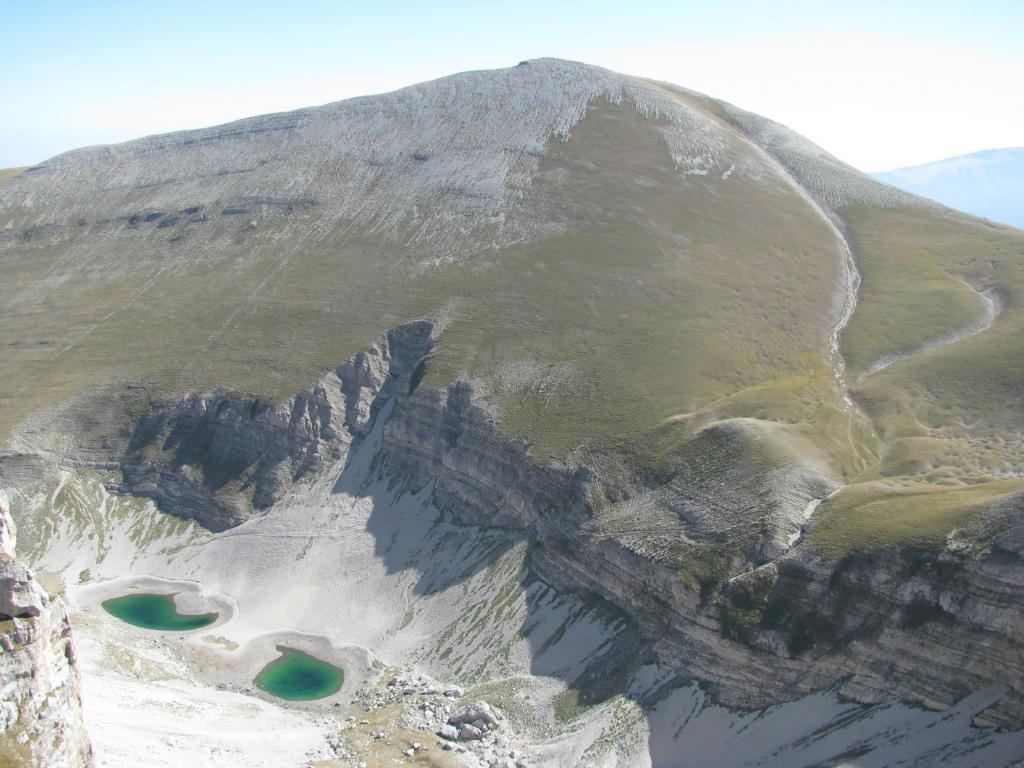Gli Occhi di Pilato ed il Monte Vettore