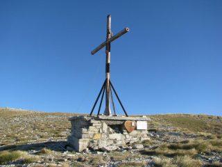 La croce sud-est del Vettore