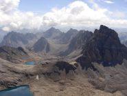 Dalla vetta:Alta Valle Maira con il