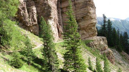 Passaggio dell'alta via dei Fassiani