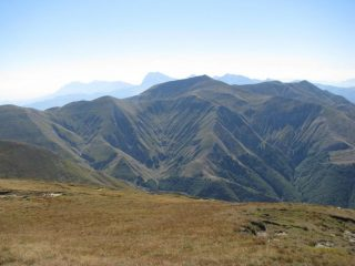 Monte Gorzano visto dalla spalla sud-est