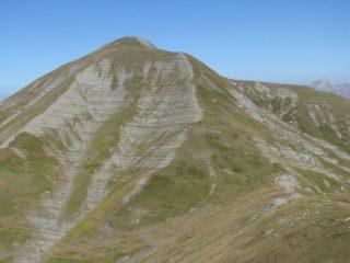 Pizzo di Sevo visto dalla cresta ovest di Cima Lepri