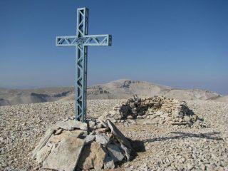 Croce di vetta del Monte Acquaviva e Monte Amaro
