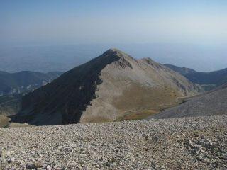 Cima delle Murelle: creste sud-ovest di salita e nord-ovest di discesa