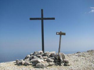 Croce di vetta di Cima delle Murelle