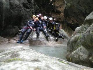 gruppo prima della grotta