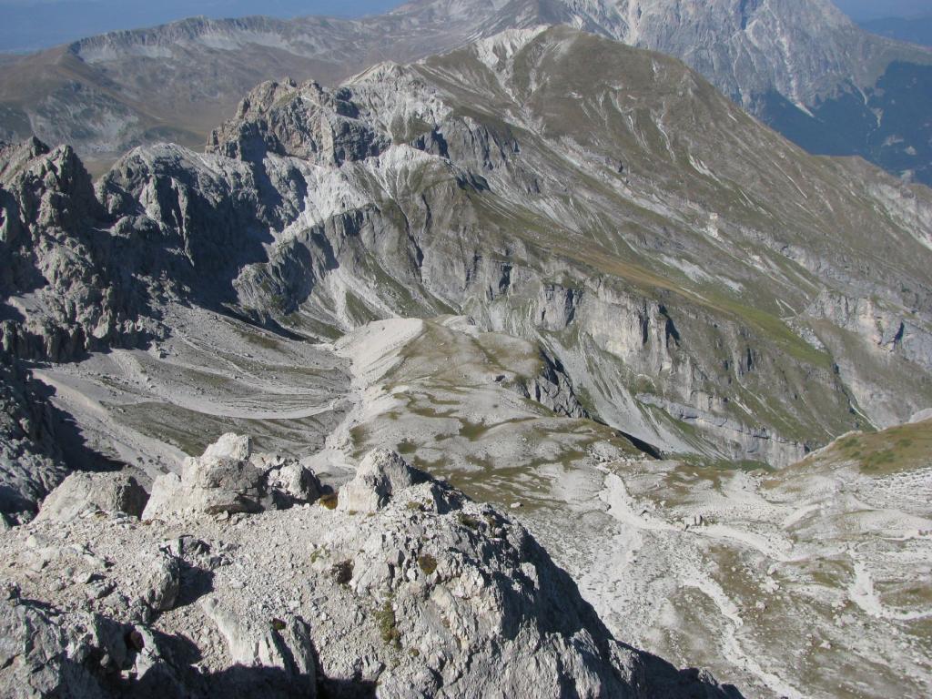 L'alta valle di Fossaceca