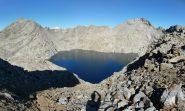 Monimour , Gialin e lago Gelato dal passo omonimo