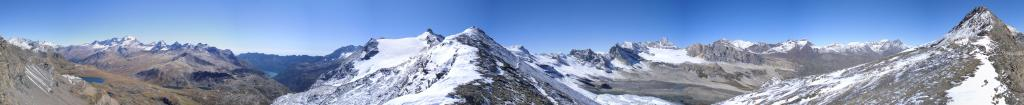 panorama dal Colle  a 360 gradi...