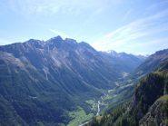 panorama sulla valle di Rhemes da Maison Cou..