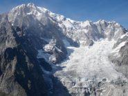 Il bacino della Brenva dalla cima
