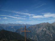 Panorama fino al Monte Bianco