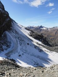 04 - il piccolo ghiacciaio di Vaudaletta