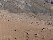 01 - Terreno sabbioso sotto al Col di Leynir