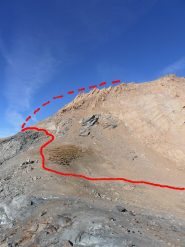 05 - dal colle si sale sul lato della Val di Rhemes