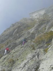 La discesa delle rocce