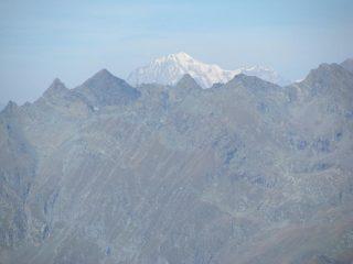 Zoom su Monte Bianco dalla Parej del Magnin
