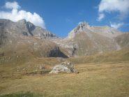 Rochere e Bonalè viste dall'alpeggio