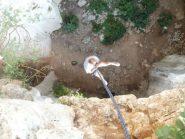 calata nella grotta