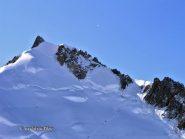 Mont Maudit, alla destra la cresta NO.