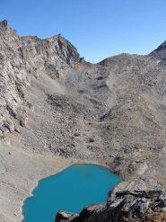 lago Lillet e colle della porta dal colle della terra